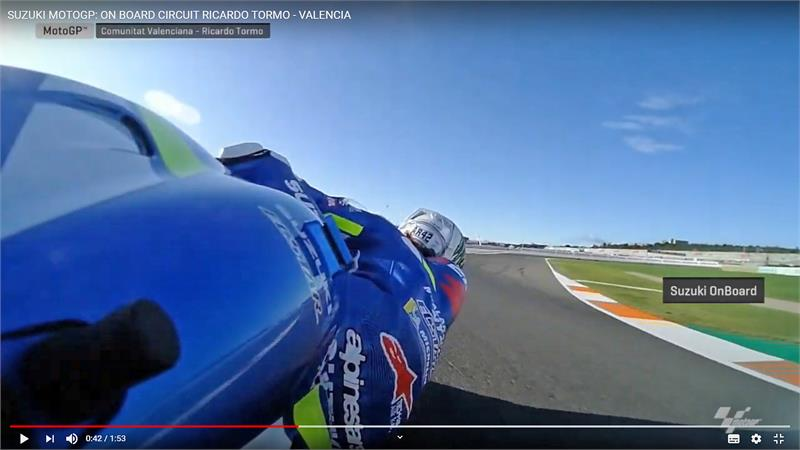 Rins Onboard Video - Valencia