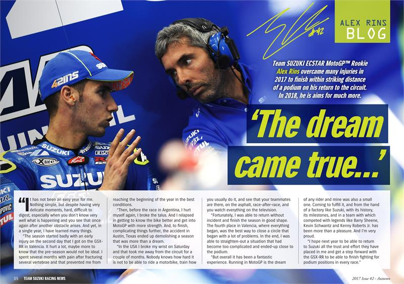 Alex Rins - BLOG