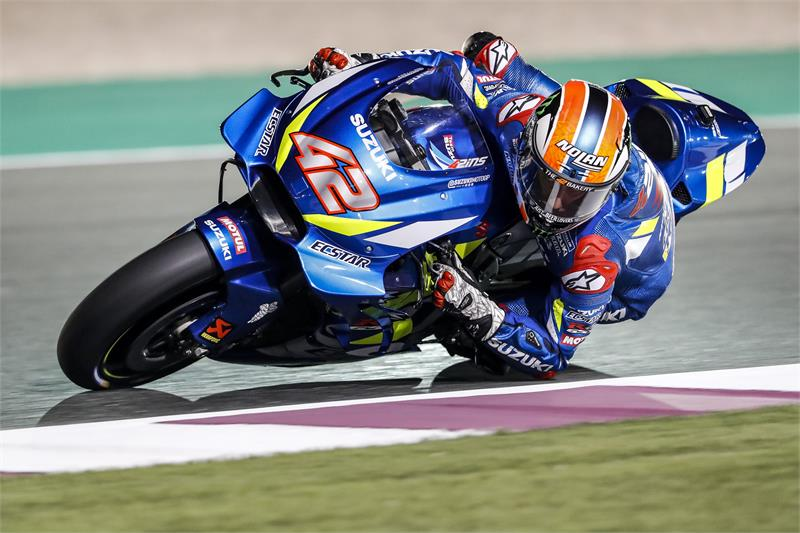 2019 Testing-Qatar-Feb23-25-Alex Rins-21